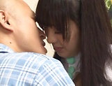 Sweetie Arisa Fujii needs cock to tame her wild beaver picture 9