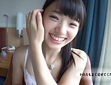 Solo erotic action by Kazusa Yatabe moaning in lovely tones picture 12