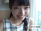 Solo erotic action by Kazusa Yatabe moaning in lovely tones