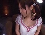 Superb pussy play in closeup with Minami Kojima