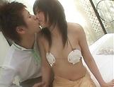 Akiho Yoshizawa bent over for a fuck