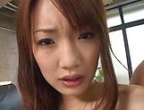 Kurara Tachibana gets cum on face