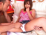 Karen Hasumi gets her wet snatch banged picture 12