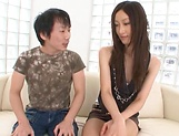 Japanese model, Eri Ito endures facial after a good fuck