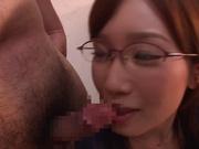 Japanese milf Nanami Kawakami loves jizz bursting on her face
