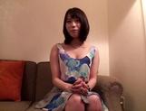 Peachy tits Asian wife Misuzu Kawana, plays with cock and endures harsh sex
