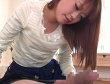Cute diva specializes in giving hand jobs picture 12