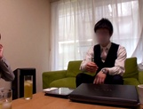 Kinky office lady has her pussy nailed