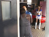 Kaede Matsushima enjoys dick riding