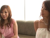 Shinoda Ayumi and Kitagawa Erika do fingering and carpet munching picture 2