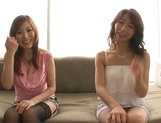 Shinoda Ayumi and Kitagawa Erika do fingering and carpet munching picture 8