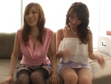 Shinoda Ayumi and Kitagawa Erika do fingering and carpet munching picture 9