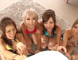 Mind blowing cock sharing POV scenes with top Japanese models picture 2
