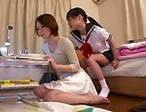 Cute Sena Ryou loves playing with toys picture 11