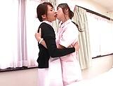 Horny Hazuki Nozomi loves wet snatch picture 11