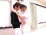 Horny Hazuki Nozomi loves wet snatch