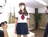 Izumi Tachibana enjoys toy insertion