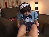 Hot Sakura Kizuna has her snatch poked picture 11
