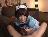 Hot Sakura Kizuna has her snatch poked picture 12