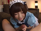 Hot Sakura Kizuna has her snatch poked picture 13