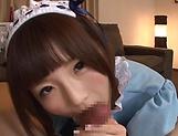 Hot Sakura Kizuna has her snatch poked picture 14