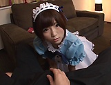 Hot Sakura Kizuna has her snatch poked