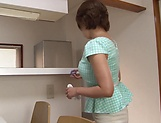 Cute Hoshima Rika love masturbating