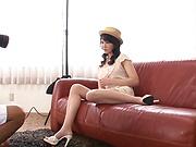 Kaori Saeki nude photo shooting with masturbation
