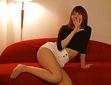 Chisa Hoshino gets licked and deepthroats hunk picture 14
