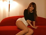 Chisa Hoshino gets licked and deepthroats hunk picture 2