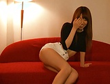 Chisa Hoshino gets licked and deepthroats hunk picture 7