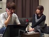 Lovely Inoue Hitomi enjoys being nailed