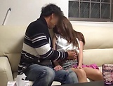 Attractive Asian lassie gets intimate with stud picture 14