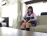 School broad Yurina Kokoa loves an elderly guy picture 11