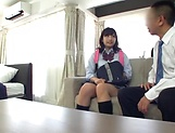 School broad Yurina Kokoa loves an elderly guy picture 13