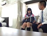 School broad Yurina Kokoa loves an elderly guy picture 15