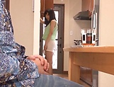 Lustful hosewife Ayaka Yuuko fucked in short mini picture 8