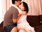 Cute Kana makes an appearance sucking cock picture 12