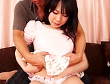 Cute Kana makes an appearance sucking cock picture 15