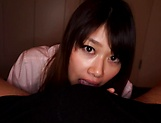 Yui Asakaro gives steamy blowjob and is smashed picture 11