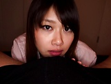 Yui Asakaro gives steamy blowjob and is smashed picture 13
