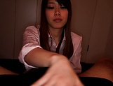 Yui Asakaro gives steamy blowjob and is smashed