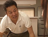 Milf Mai Saki has her gaping hole nailed picture 11