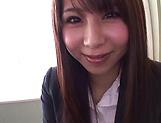 Asuza Akane has her gaping hole nailed
