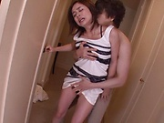 Hottie Aimi Yoshikawa licked well in advance of nailing