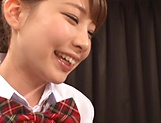 Lovely Rui Hagesawa wants to be smashed