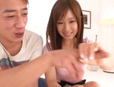 Horny teen sex doll Minami Kojima gets fingered and banged