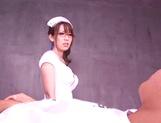 Naughty Asian nurse, Yui Hatano amazes with her kinky cock sucking