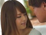 Enticing Asian teen, Akiho Yoshizawa gets hot rear banging