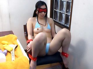 Japanese av model blows until the last drop of cum